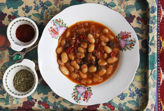 White Bean Stew (Kuru Fasulye) post image