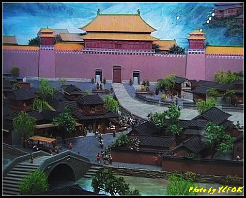 杭州 吳山天風景區 - 066 (城隍閣 內的南宋時期的杭州風情軟木立體畫))