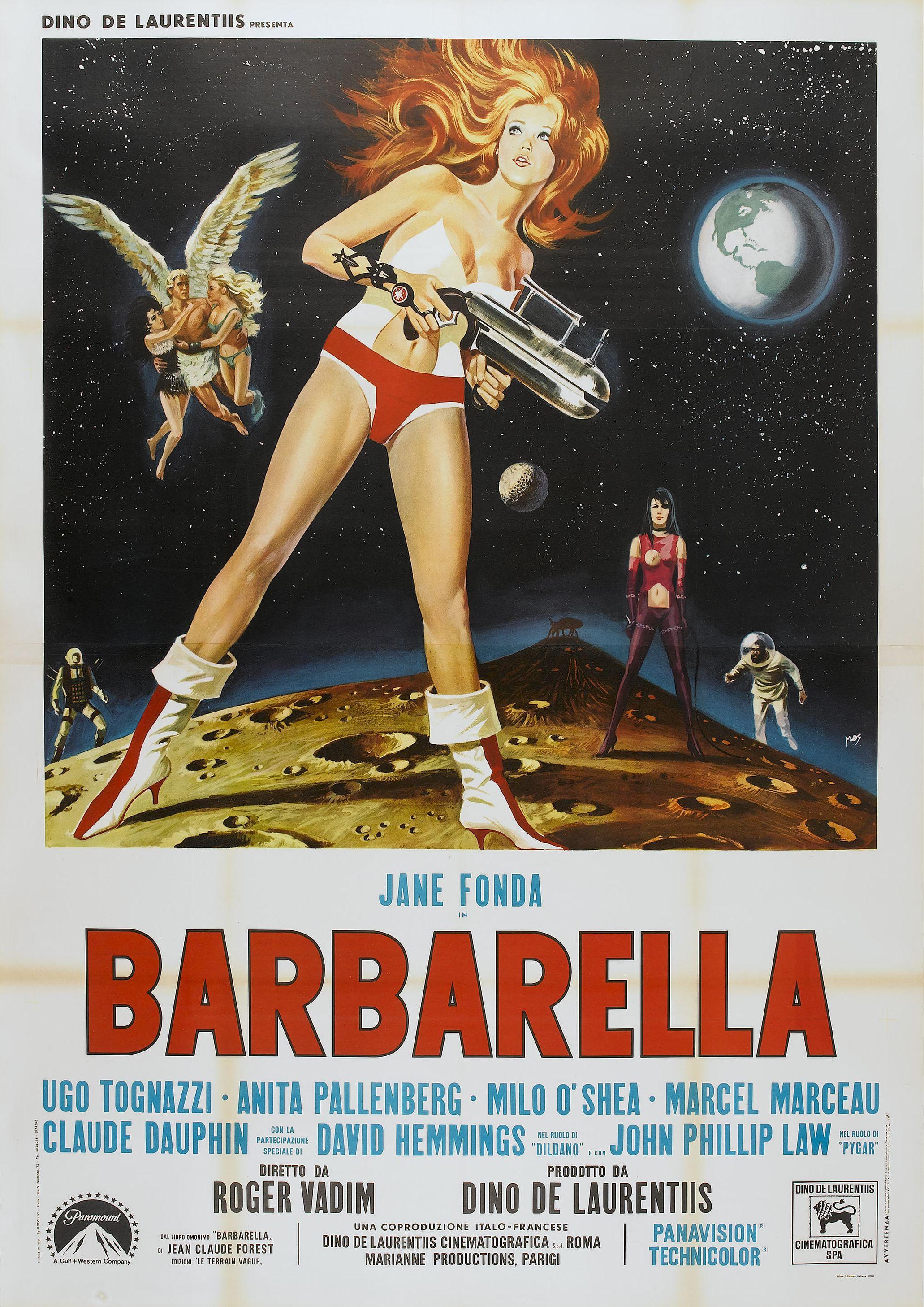 Barbarella 1968 amazing movie posters