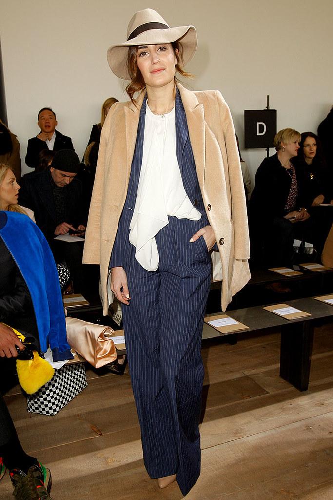 Front row semana de la moda Nueva York Otoño Invierno