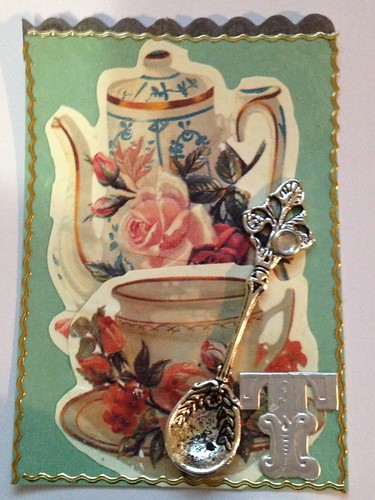 Something about Tea ATC by beemgee1