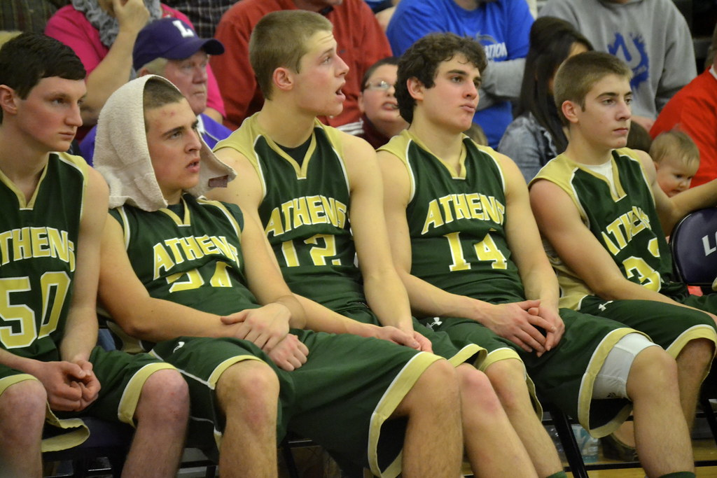 Warren vs. Athens district final, Feb. 21
