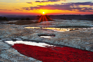 Arabia Mountain Sunset