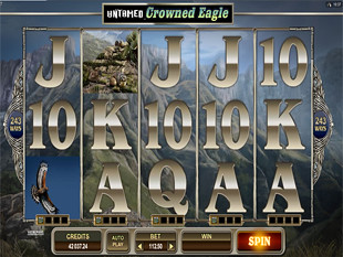Untamed Crowned Eagle slot game online review
