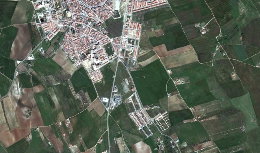 olivenza, badajoz, ¿portugal?, después, urbanismo, planeamiento, urbano, desastre, urbanístico, construcción, rotondas, carretera