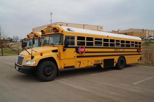 vision bluebird schoolbus robertleeisd