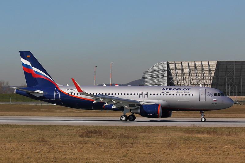 Aeroflot - A320 - D-AUBZ (2)