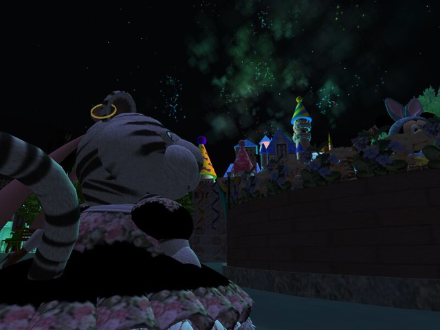 Fireworks at MagicLand SL