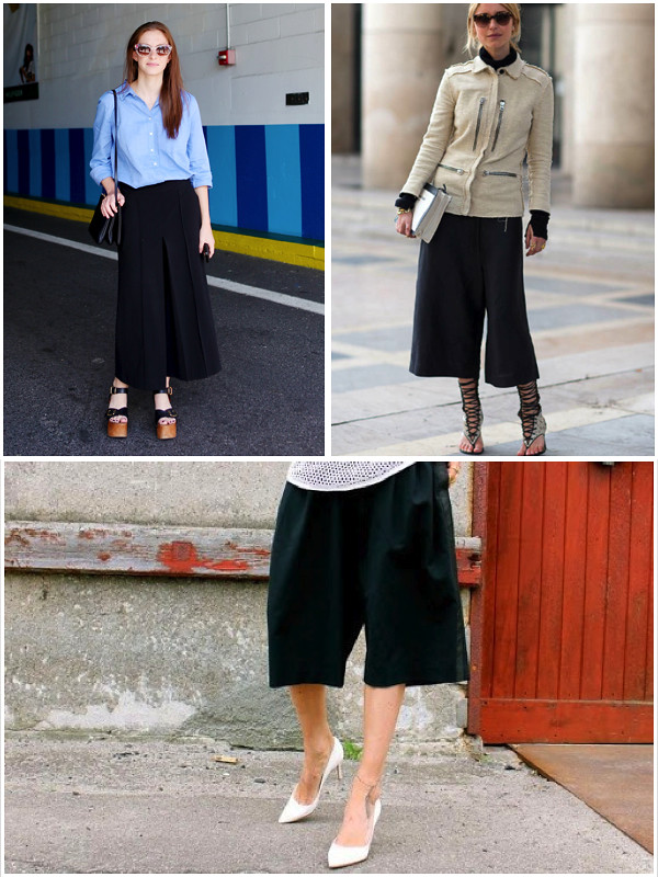 Tendencias: Culottes