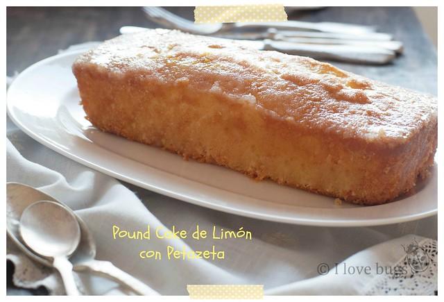 pòund cake de limon