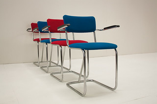 Ahrend tubular chairs