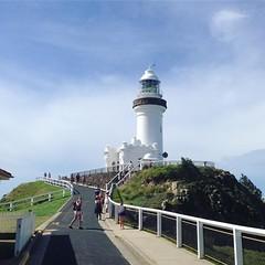 La la la la la Lighthouse #byronbay
