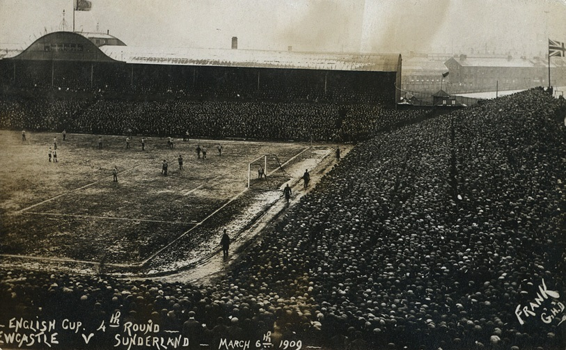 FA Cup match between Newcastle United and Sunderland AFC