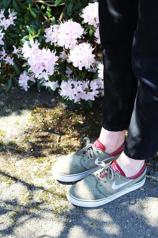 Janoski kaki et bordeaux