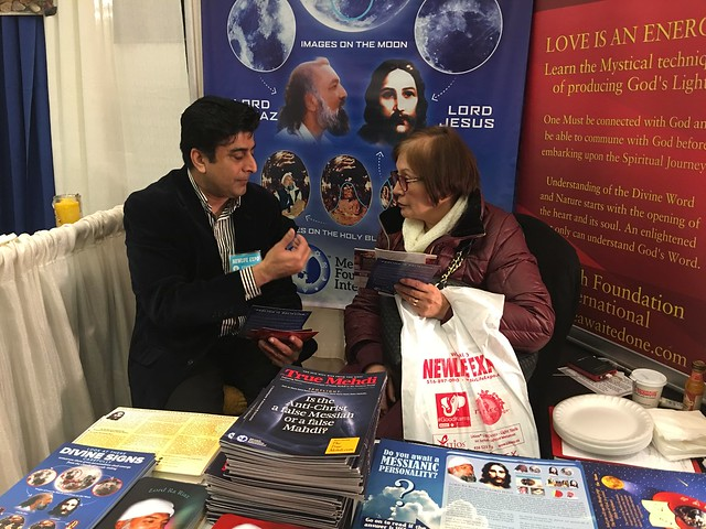 Messiah Foundation at the New Life Expo in Hotel new Yorker, New York City, USA 39