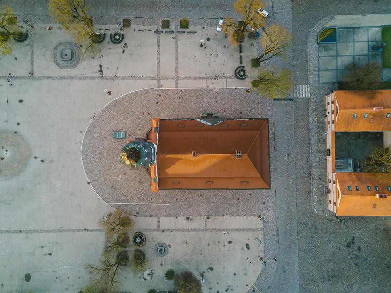 Town Hall | Kaunas Aerial
