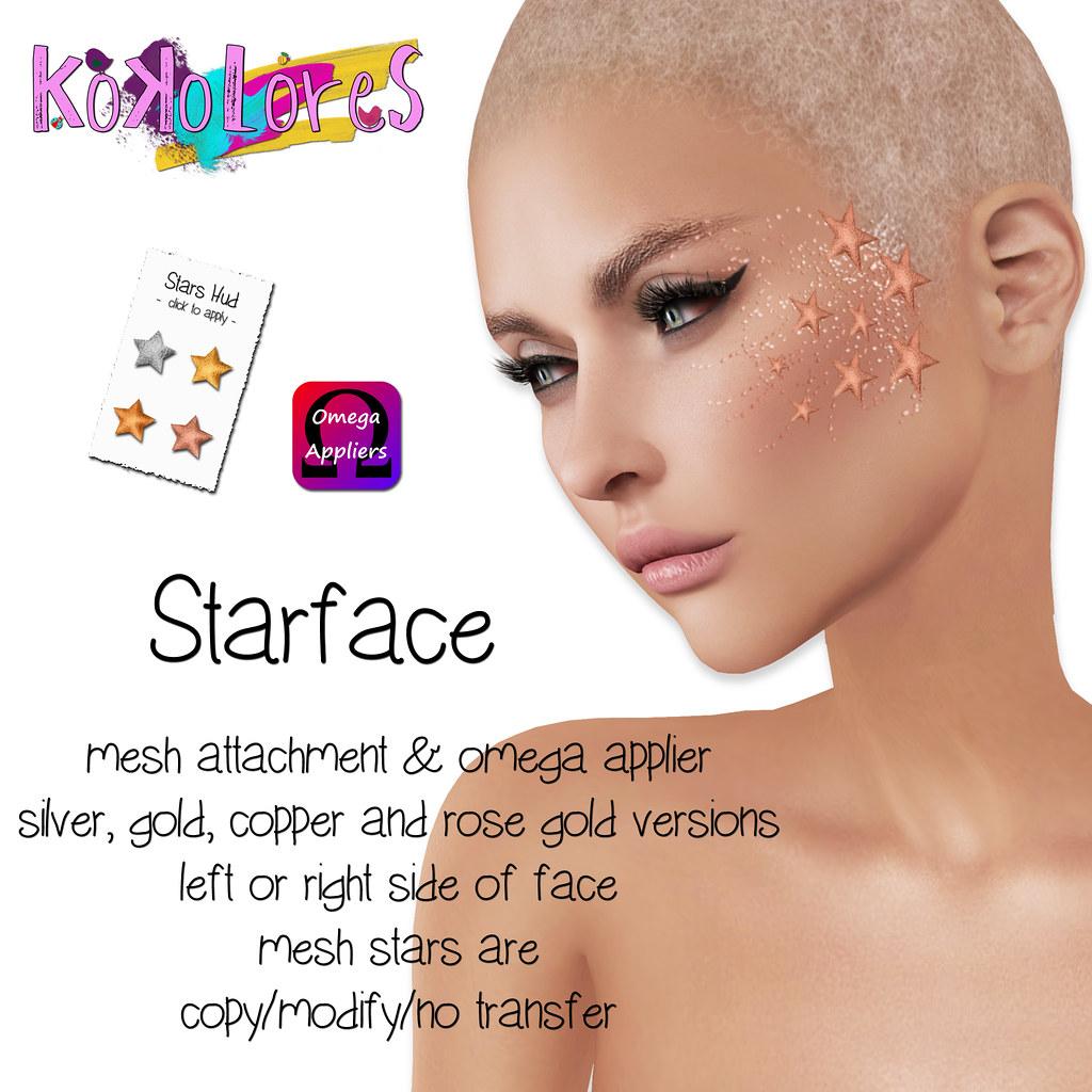 [KoKoLoReS]-Starface (mesh) - SecondLifeHub.com