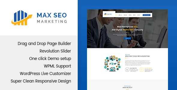 Max Seo WordPress Theme free download