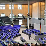 Plenarsaal Deutscher Bundestag
