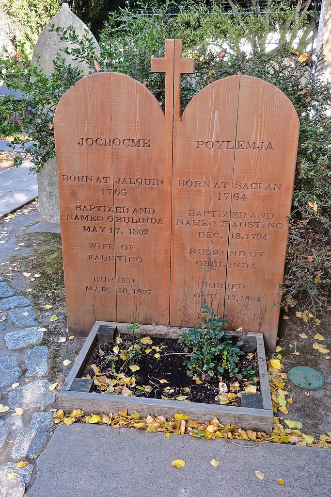 Grave of Jocbocme and Poylemja, San Francisco, CA