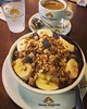 Hello ... it's my açaí :joy::thumbsup::heart_eyes: #acai #água #cafe #coffee #padaria #saopaulo