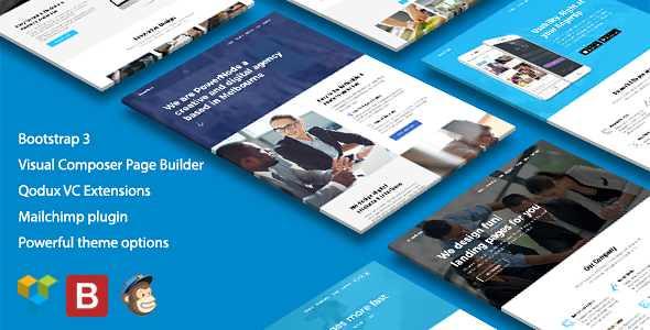 PowerNode WordPress Theme free download