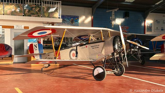 Nieuport XI BB (replica) of the Vimy Flight