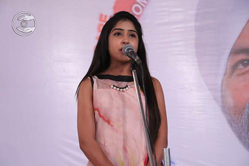Sweta from Amravati, expresses her views
