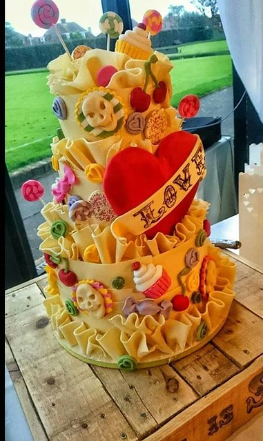 Cake by Sturdy Cake Stackers