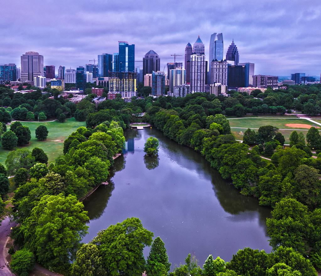 Bellwether Landscape Architects In Atlanta Ga: Elevation Of Campbellton Road, Atlanta, GA, USA