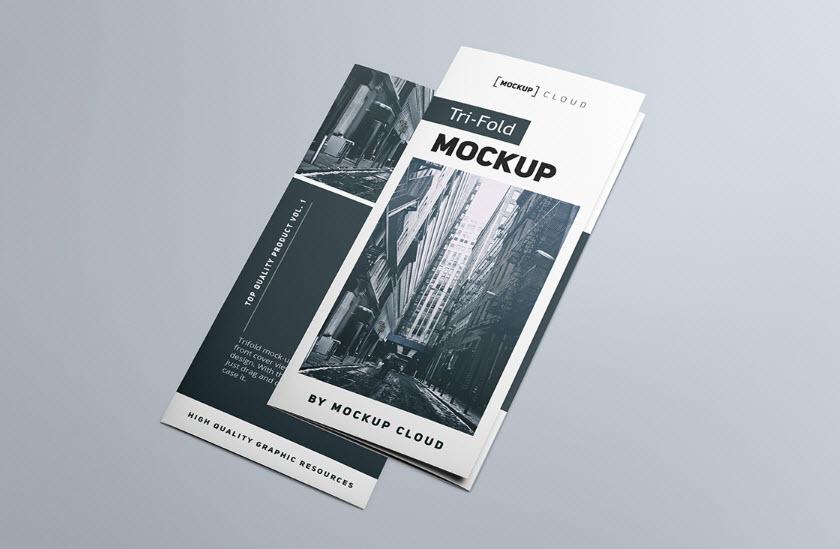 [object object] - Brochure Gập MockUp