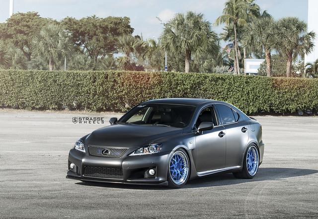 Strasse Wheels Lexus IS-F