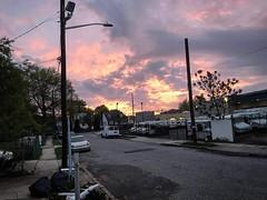 OooOoOo look at that sunset last night 🔥🔥🔥 #sunset #longisland #newyork #ny #sky