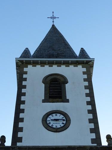 Masparraute ou Martxueta, Pyrénées-Atlantiques: église Saint-Étienne, XVIII°