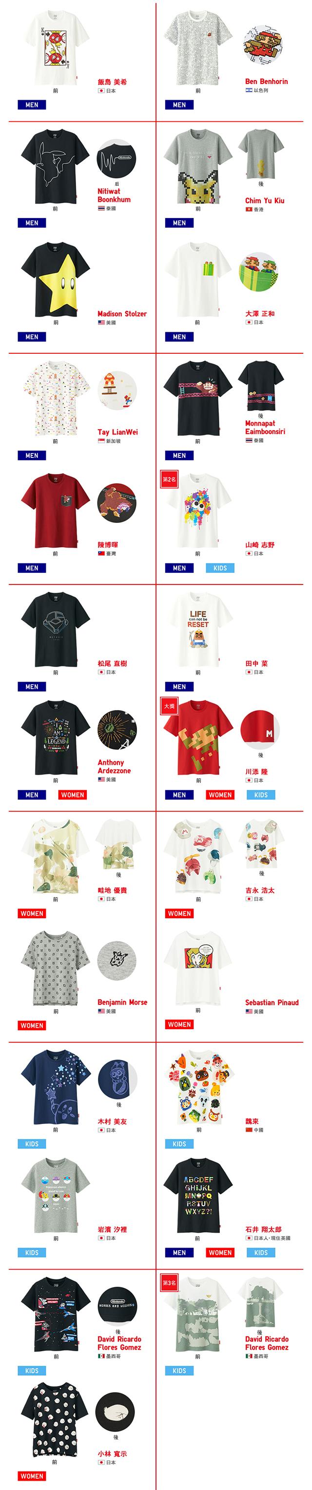 任粉狂熱!UNIQLO「UTGP2017 任天堂主題 T-Shirt」收錄10款名作,全 25 樣式 05 月 19 日發售!