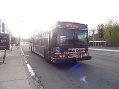 Toronto Transit Commission 7350 on Spadina Subway Shuttle