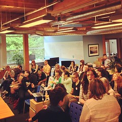 Full House for Ashley's Preso to Portland Bloggers