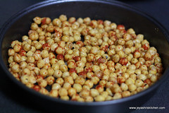 Chicpeas roasted