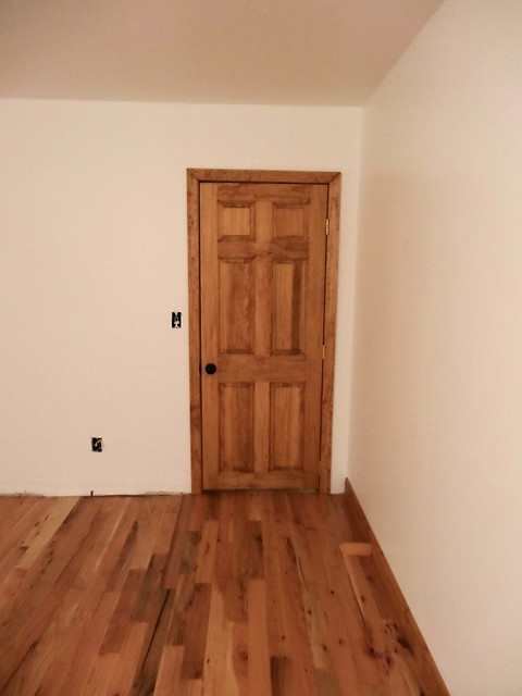 door for guest room done