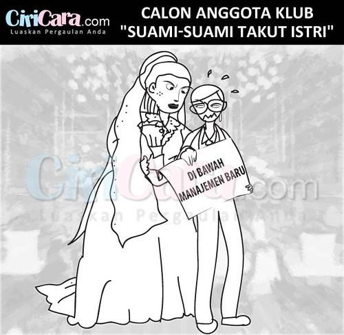 Gambar Lucu Anggota Klub Suami Suami Takut Istri Ciricara