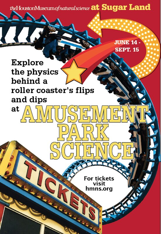 Amusement Park Science: At HMNS Sugar Land June 14 through Sept. 15