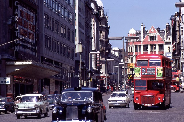 Haymarket, London, 1969