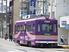 Hankai Tramway 354 (May 2013)
