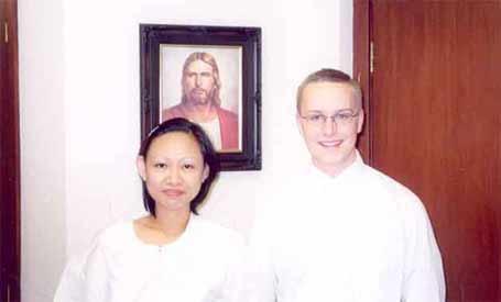 Myla Alvaro and Elder Egan
