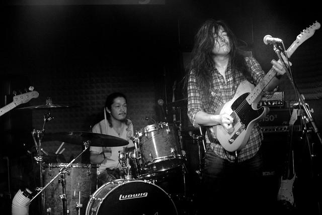 O.E. Gallagher live at Crawdaddy Club, Tokyo, 15 Jun 2013. 306