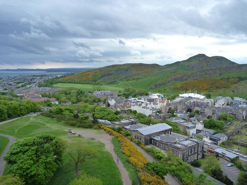 Arthur's Seat from the Nelson Monument