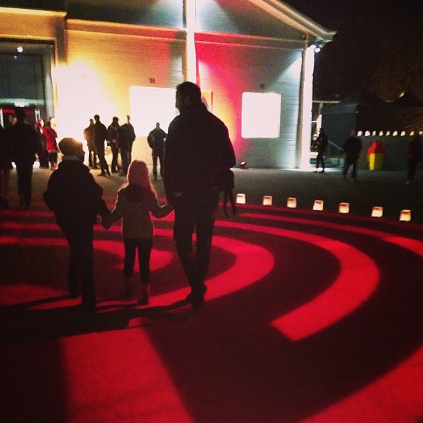 Winter solstice spiral #darkmofo #wintersolstice