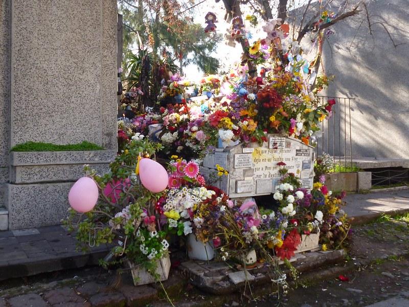 Carmencita's grave in Santiago