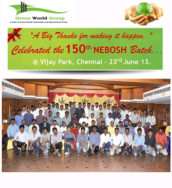 Green World Group Celebrates The Double Diamond Nebosh Batch 150th