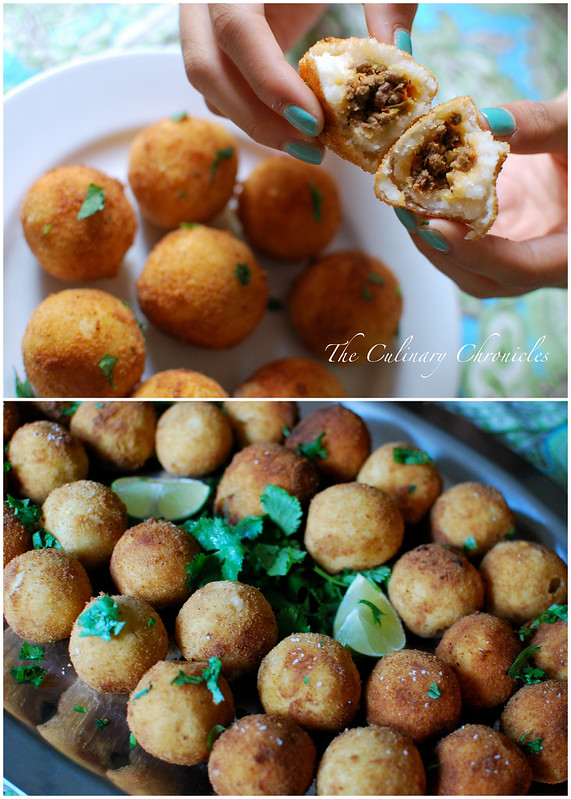 Cuban Potato Balls (Papas Rellenas)